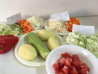 מרק ירקות שורש מתכווןן